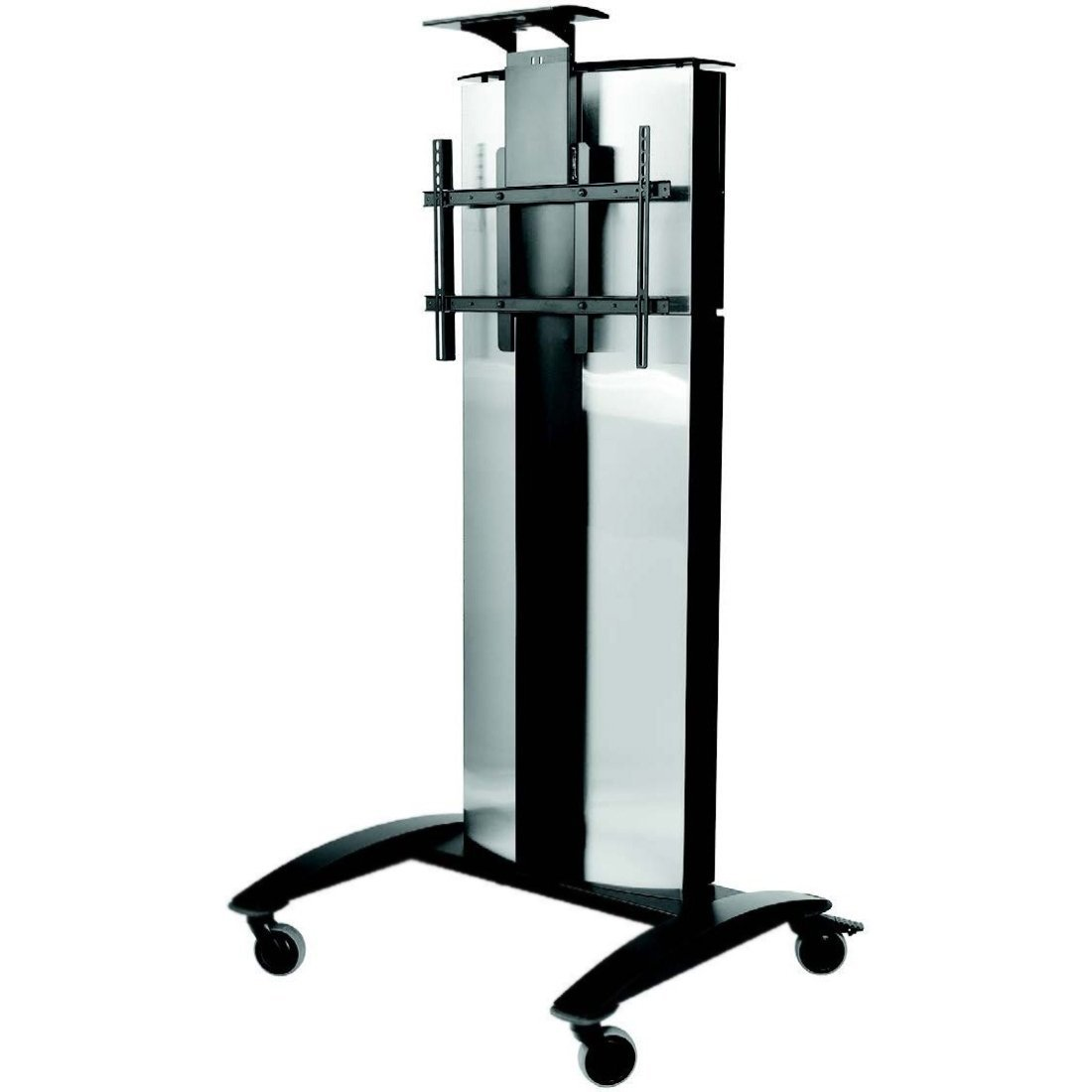 FLAT PANEL VIDEO CONFERENCE CART FOR ONE 32-75IN DISPLAY