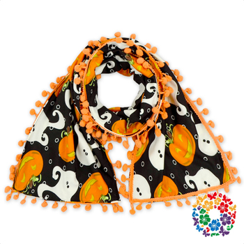 2016 Hot Sale Kids Baby Boy & Girl Scarf/Muffler/Neckerchief With Balls