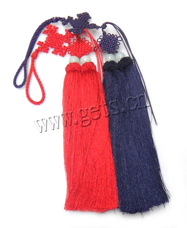 Gets nylon tassel fringe fringe earrings