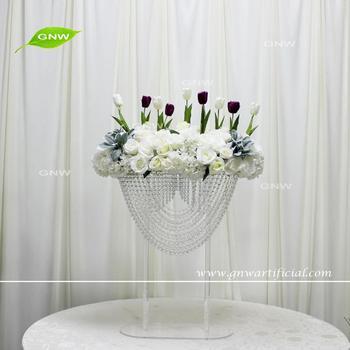Gnw Ctra 1708011 Tulip Flower Latest Wedding High Table Decor