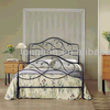 Top-selling modern artistic cast iron bed