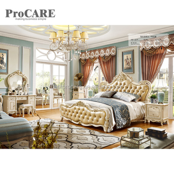 Luxury Royal Furniture New Classical Style Design Bedroom Sets With Gold  And White - Buy Luxury Royal Bedroom Sets,Classical Style Bedroom Sets ...