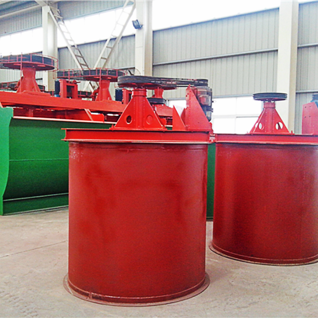mineral mixing agitation leaching tank/mineral ore pulp mixing tank/mineral processing mixing tank