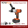 "NP8518 13mm 1/2"" Power Tools 18V Cordless Electric Impact Driver Drill with 1300mAh/2600mAh Lithium Battery"