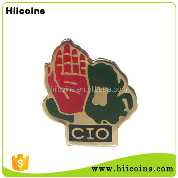 China manufacture of custom poppy lapel pins commemorate world war 2