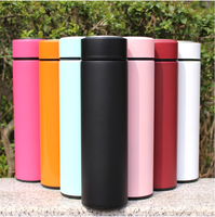Logo Customized Stainless Steel Vacuum Flask Thermal Cup Coffee Thermos Mug Water Bottle Sports Thermos