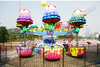Cheap entertainment park outdoor family game jellyfish rides