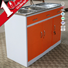 Latest italian kitchen cabinet with simple sink cabinet design