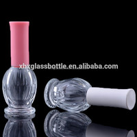 The newest bird nest shaped fancy polish nail bottle made in Guangzhou
