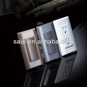 American Standard Wall Switch and Socket 4 hole wall socket