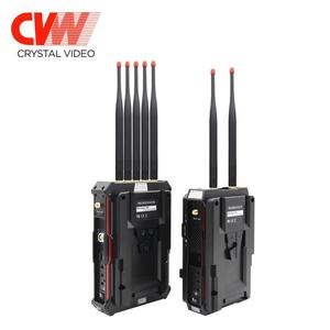 CVW Pro800 wireless transmitter and receiver kit 2500 feet SDI Crystal Video broadcast No latency WHDI solution filming