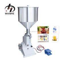A02 Manual small scale bottle filling machine