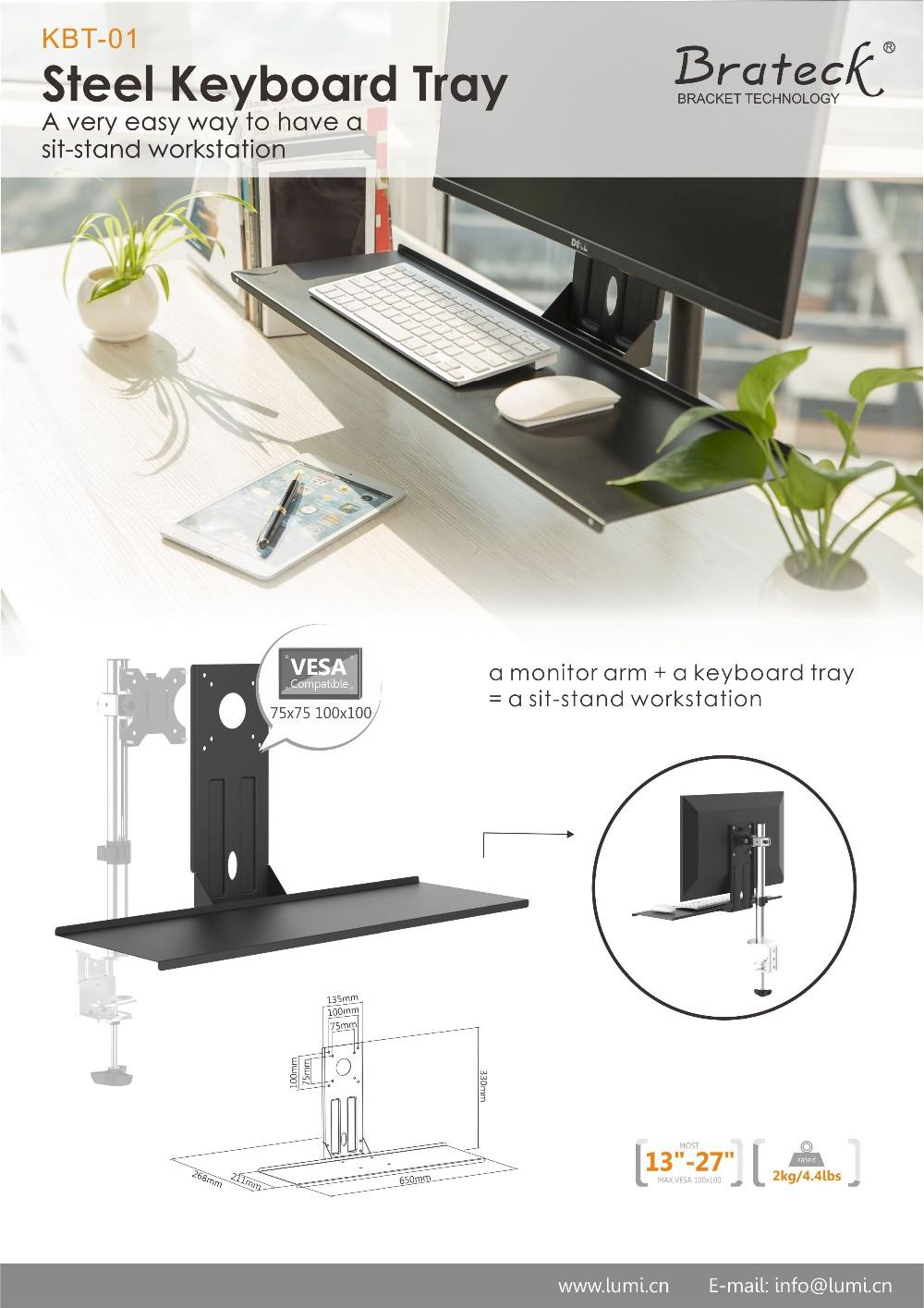 Büromöbel Zubehör Weise Nach Oben Und Unten Ergonomische Schiebe ...