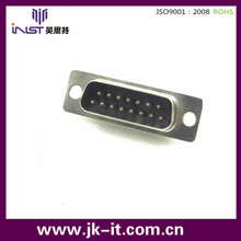 INST D- Sub 15 contactos conector impermeable IP67