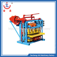 Quick in product shaping block making machine concrete