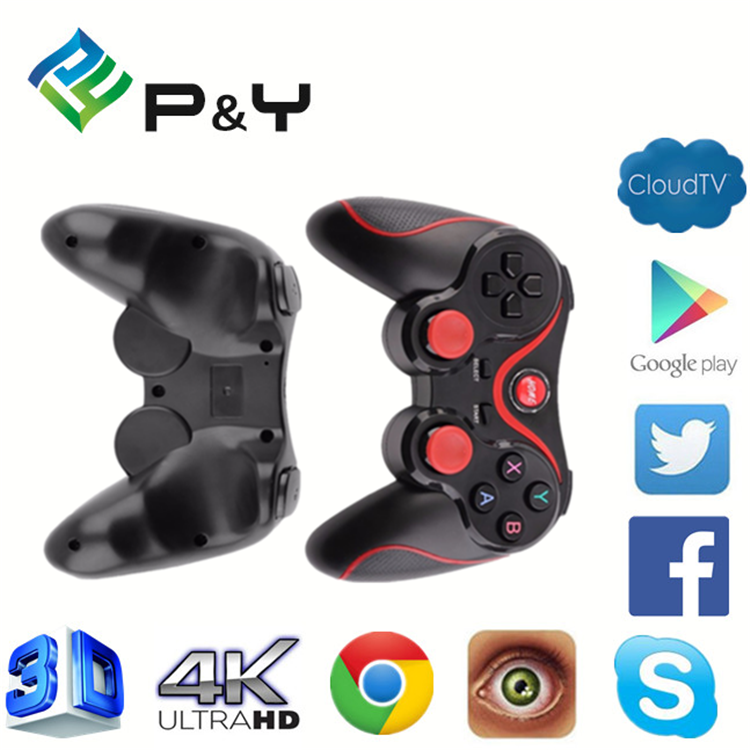2017 more popular Gamepad android Smartphone Joystick Controller High Quality Pc Wireless BT For ott user manual