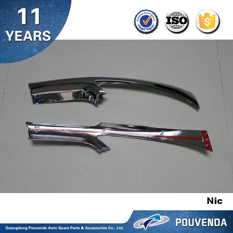 ABS Front Grille Trim for Peugeot 206 car insect mesh cover trims Auto accessories from pouvenda