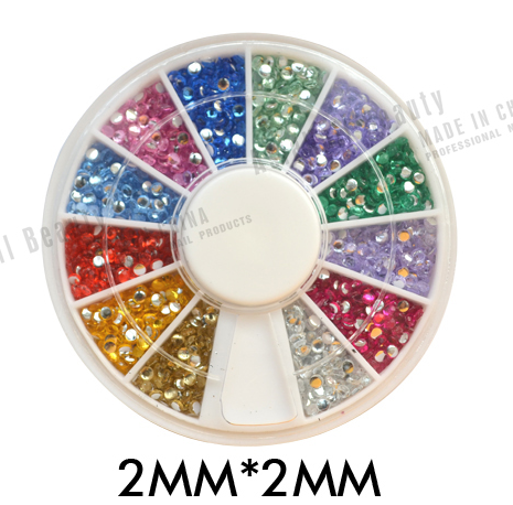 Nail Art Rhinestones Crystals Non Hot Fix Rhinestones for DIY Nails Decoration