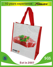 reusable eco-friendly Bopp laminated pp woven tote bag