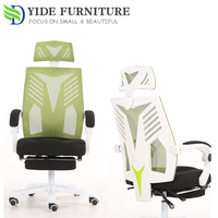 Chair polyester mesh fabric computer lounge racer chair for office