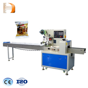Computer system controlling automatic pillow bag feeding apple blueberry bakery bread packing machine chocolate bar confectioner