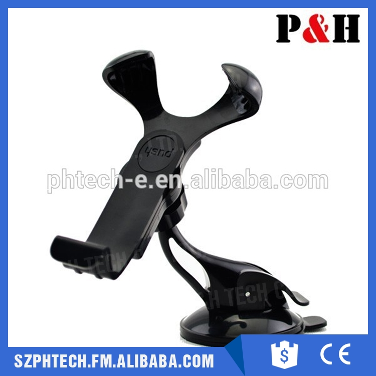 Auto Mobile Car Phone Holder 360 Degrees Rotation Car Windshield Sucker Mount Bracket for Mobile Phone GPS PDA Universal Accesso