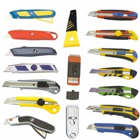 9/18mm Safety Snap off Utility Knife Auto lock and Auto retractable Utility knife, cutter knife, stationery Utility Knife