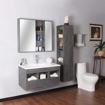 Floor White Pvc Wholesale American Style Modern Corner Bathroom