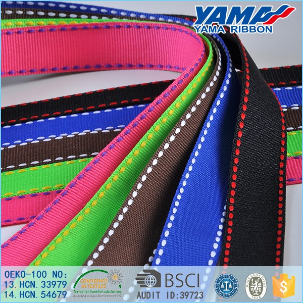 High quality polyester discount stitch ribbon wholesale suppliers