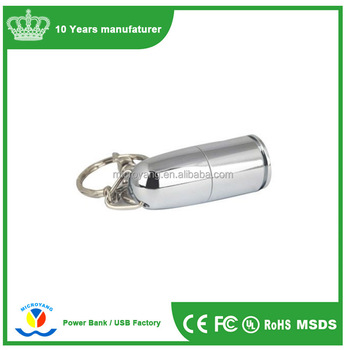 Manufacturers Wholesale Bullet Metal Usb Flash Drive Key Chain Linked To  The Simulation Of A Full Amount Of Bullets U Disk - Buy Bullet Metal Usb
