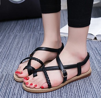 Design Buy Summer On sandals Product Shoes Sandals 0742r Simple Flat 2018 Up ladies Ladies Sandals Girls 2018 ybv76fYg