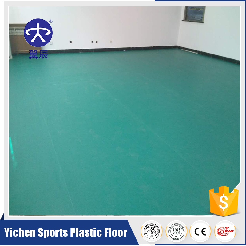 BWF Approved Synthetic Badminton Court Mat Floor