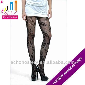edb2c4c1b8d Lace Pattern Breathable Fashion Tights Women Sexy Net Pantyhose ...