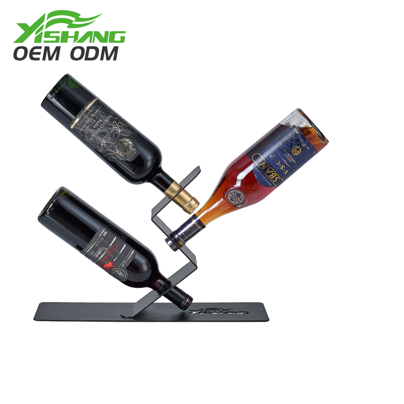 Excellent quality metal liquor bottle display bottles stand