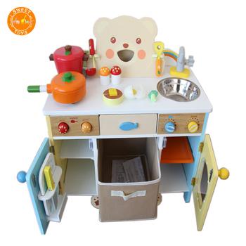 Min Holz Küche Play Set Für Kinder Kochen Pretend Kleinkind Play Set  Holzspielzeug Küche Spielzeug Für Kinder - Buy Holz Küche Kinder,Kinder ...