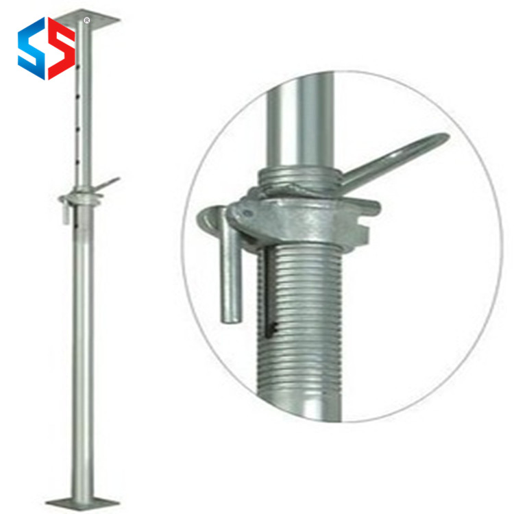 Promotional Price Pre Galvanized Steel Push Pull Scaffolding Stable Props