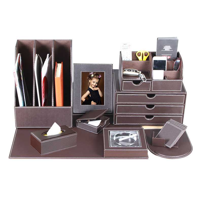 leder b ro suite b ro zubeh r schreibtisch set b ro in. Black Bedroom Furniture Sets. Home Design Ideas