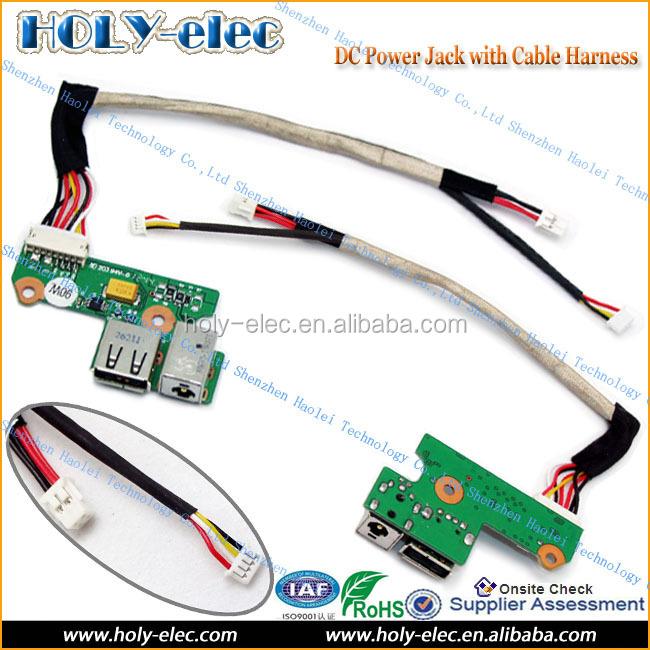 AC DC Power Jack Harness FOR HP DV6000 V6000 USB Board Cable 65W DDAT8APB2002408