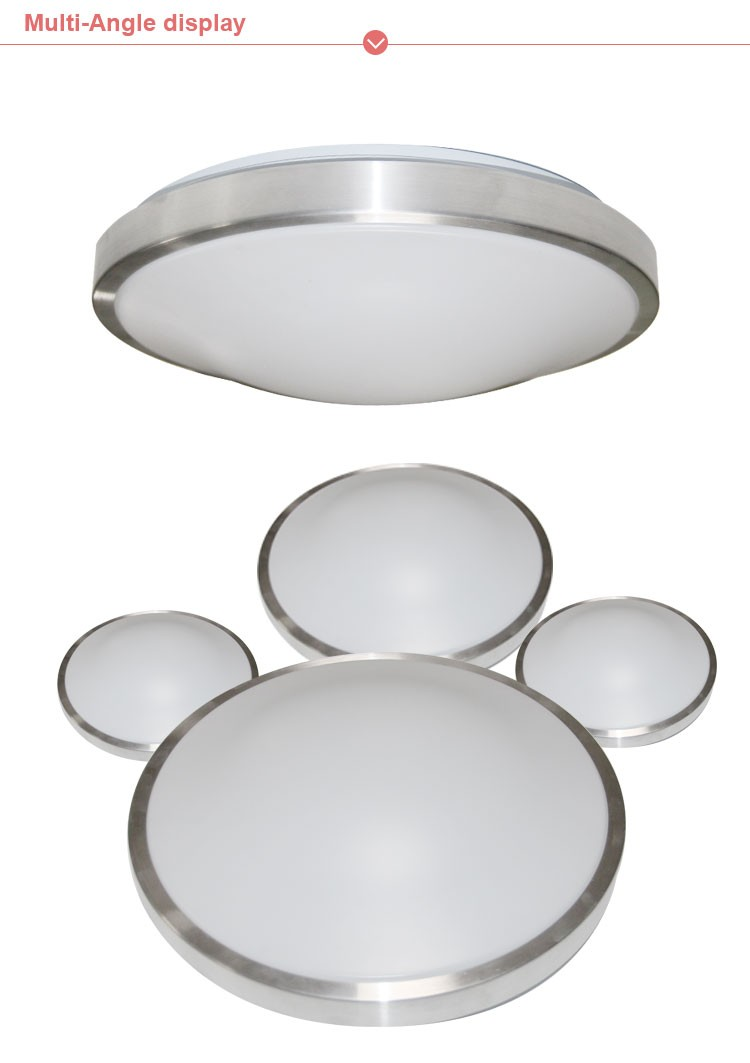 Led Ceiling Lights 12w Flush Mount Fixture For Bedroom Dining Room ...