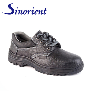 Wholesale Factory cheap price genuine leather Oil water resistant  Construction safety shoes in Saudi arabia RS89341