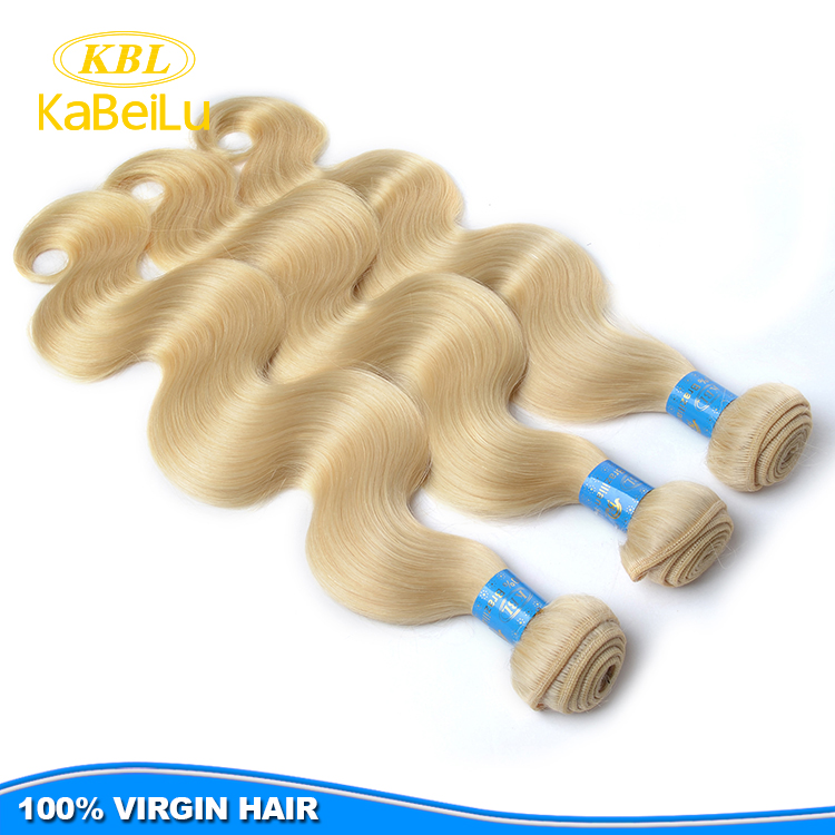 New Style Ash Blonde Hair Weaves36 Inch Blonde Hair Extensionsfull