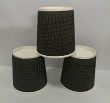Fancy Disposable ripple double wall coffee paper cup