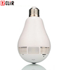 Wireless CCTV Wifi IP Panoramic 360 degree VR Light Bulb Camera