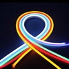 DC12V 8*16MM 2.5cm cuttable waterproof silicone led neon flex light for advertising sign