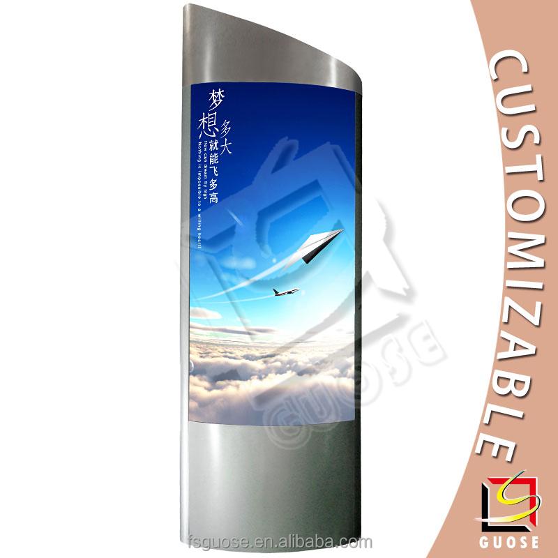 Outdoor Or Indoor Led Display Billboard Advertising Totem Poles ...