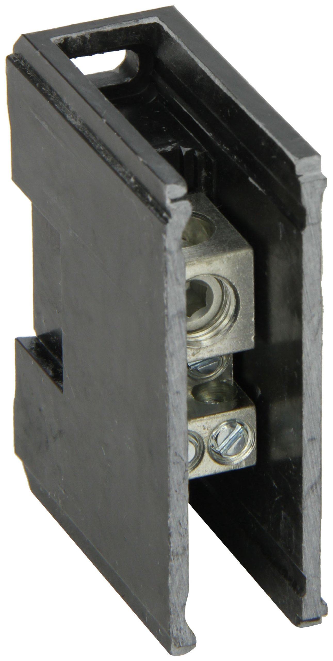 """Power Distribution and Terminal Block, Connector Blok - Single Primary - Multiple Secondary, 2/0-14 AWG Line and 4-14 AWG Load Side Configuration, 1.04"""" Width, 2.34"""" Height, 2.90"""" Length"""