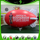 Red Blimp Customized LOGO Print Advertising Inflatable Airship