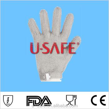 Ppe/stainless Steel Ring Mesh Gloves