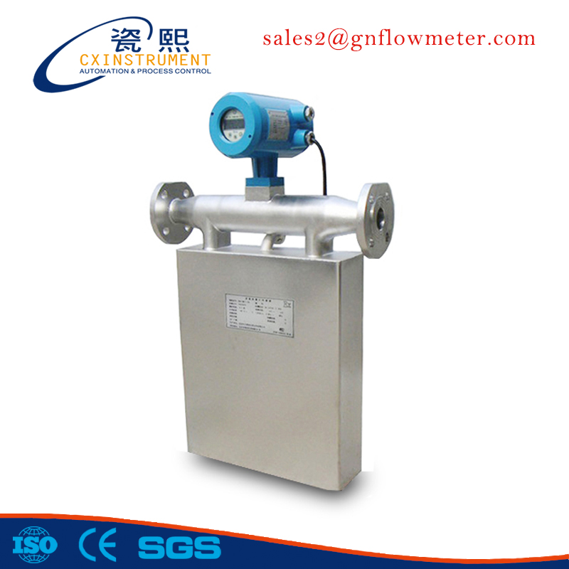 0.2% High Accuracy All SS316L Material Coriolis mass flowmeter