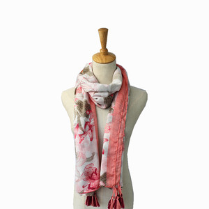 fashion design 100% rayon print women scarves shawls stoles